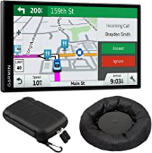 Garmin 010-01681-02 DriveSmart 61 NA LMT-S GPS w/Smart Features Dash-Mount Bundle – (Renewed)