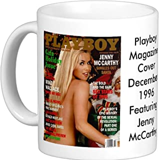 December 1996 Playboy Magazine Cover Featuring Jenny Mccarthy