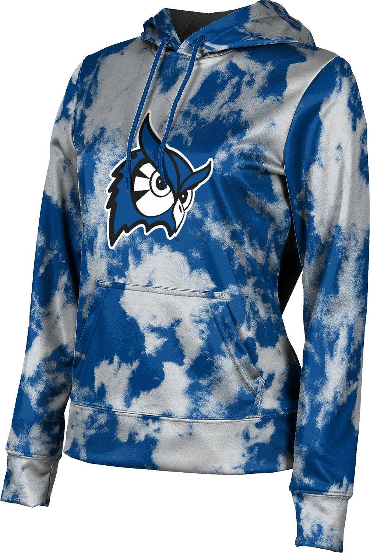 ProSphere Westfield State University Girls' Pullover Hoodie, School Spirit Sweatshirt (Grunge)