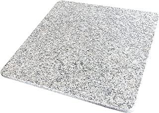 ペットさん大よろこび♪ 魔法の天然石ひんやりマット(ベッド)W01 40×40×1.3センチ ほど良い涼しさにペットうっとり♪ 暑い夏に洗えるクールなマットで安心の日本製【耐久性抜群のA級品です】大自然の原石から1枚ずつ丁寧に加工してます。G400-W01