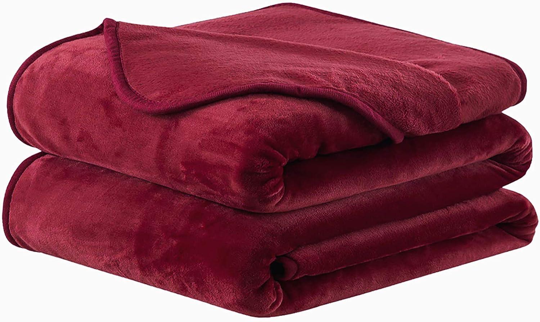 Max 90% OFF Soft discount Blanket Warm Fuzzy Microplush Bl Thermal Fleece Lightweight