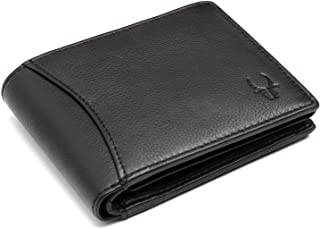 NOBILITY RFID Protected Premium Mens Leather Wallet - Matte Black