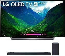 LG Electronics OLED77C8PUA 77-Inch 4K Ultra HD Smart OLED TV (2018 Model) Bundle with SK9Y 5.1.2 ch High Res Audio Sound Bar
