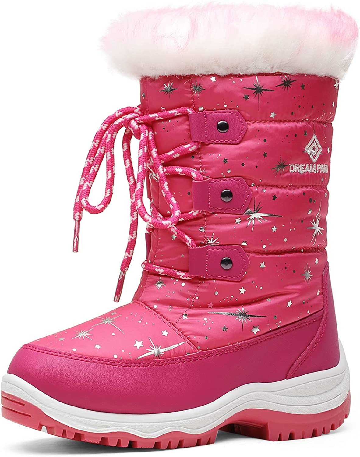 DREAM PAIRS Boys Girls Ranking TOP9 Chicago Mall Nordic Boots Winter Snow Knee High