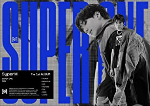 SuperM The 1st Album 'Super One' [Unit A .Ver.]. CD, Photobook, Booklet, Postcard, Posters On Pack, Photocard, Photo Bookl...