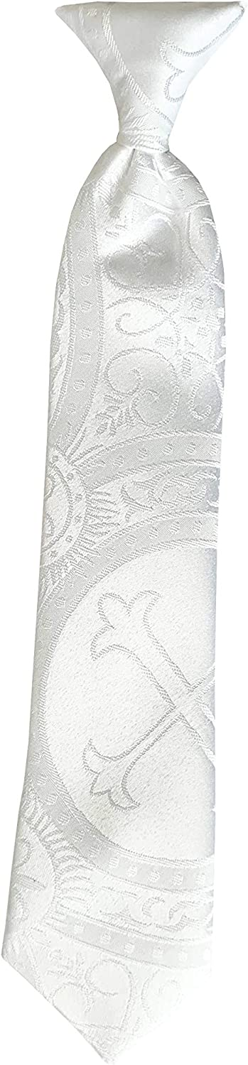 Holiday 55% Deluxe OFF Bow Ties Boys First Holy Cle Communion White of Neck Tie