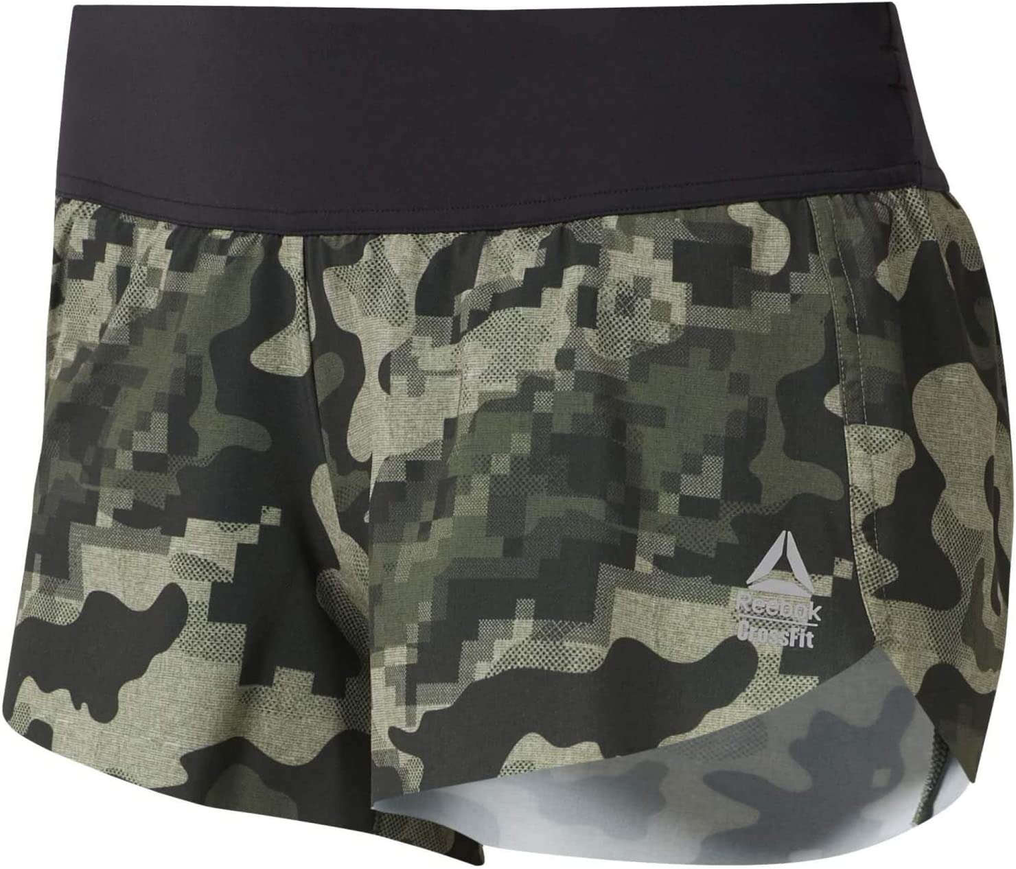 Reebok Pantalone Corto Donna Rc Knw Short Print
