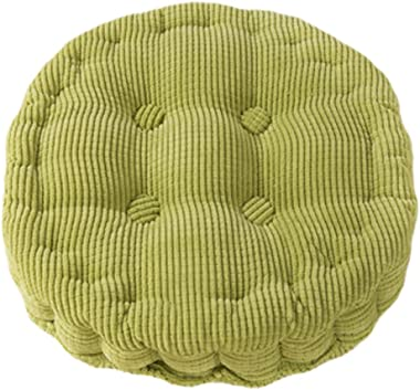 Kylin Express Quality Comfort Soft Chair Cushion Seat Pad Seat Cushion Pillow, Green/Circle