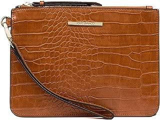 TONY BIANCO Fenix Tan Smooth Bags Womens Bags Casual Clutch Bags