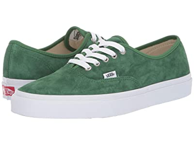 Vans Authentictm ((Pig Suede) Fairway/True White) Skate Shoes