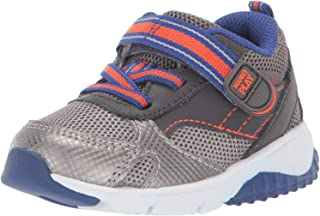 Boys' M2P Indy Sneaker, Grey, 8.5 W US Toddler