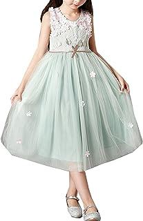 子供ドレス 女の子 フォーマル 発表会 結婚式 ノースリーブ フラワーガール ワンピース パーティドレス女児 花びら ロングドレス 入園式