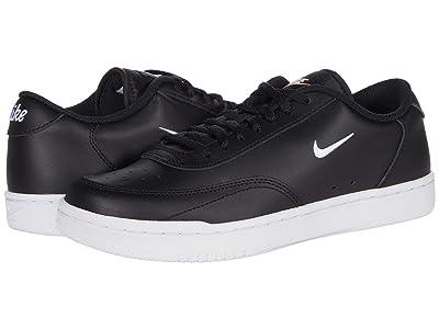 Nike Court Vintage (Black/White/Total Orange) Women