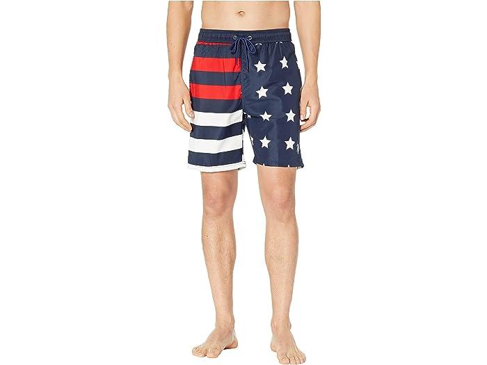 U.S. POLO ASSN. US Flag Swim Shorts
