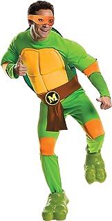 Rubie`s Nickelodeon Men`s Teenage Mutant Ninja Turtles Deluxe Adult Muscle Chest Michelangelo