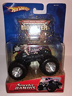 2005 Monster JAM Scarlet Bandit #8 Monster Truck