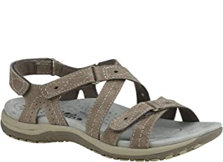 Women's, Shane Sandals Brown 7 M