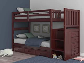 Best bunk bed bunk beds with stairs Reviews