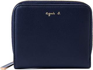 [名入れ可] agnes b. VOYAGE アニエスベー ボヤージュ レザー ウォレット 本革 二つ折り 財布 AW11C-06 ショップバッグ付