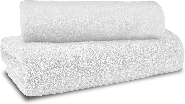 hergestellt in Italien 100 /% Baumwolle Giovanni Dolcinotti Bath Collection Handtuch-Set aus Frottee Bordeaux, 4