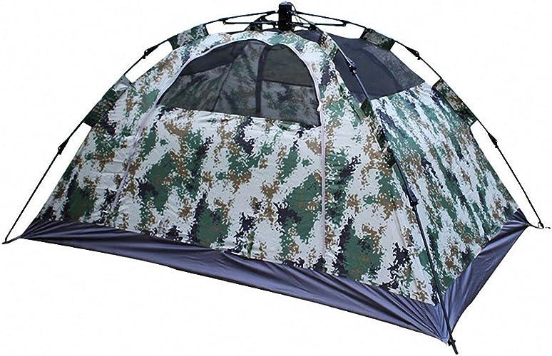 Sanniya de plein air Camouflage Pop Up Tente Prougeection UV imperméable pour la randonnée, Le Camping, la Chasse