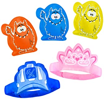 5 x Children's Ice Packs for Instant Pain Relief - Boo Boo Buddy for Kids, Toddlers & Babies. Cold Compress for Bumps...