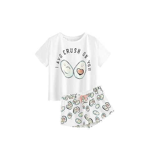 LIKESIDE Baby Girl T Shirt Tops Pants Family Pajamas Sleepwear Christmas Outfits