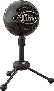 Blue Microphones Snowball - Micrófono USB con dos patrones de captación versátiles y diseño óptimo y retro para grabación,...