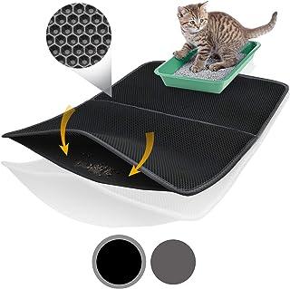 Bella & Balu XXL Alfombrilla Gato con diseño Panal -