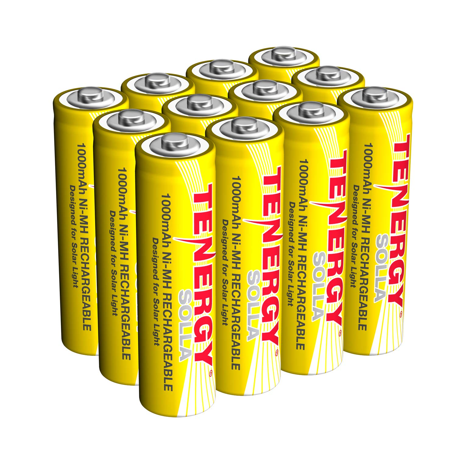 Tenergy Rechargeable Batteries Durability Performance