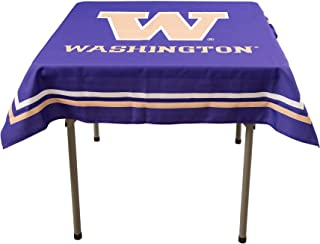 College Flags and Banners Co. Washington Huskies Logo Tablecloth or Table Overlay