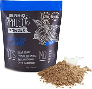 Clovis: Fat Loss Collagen Superfood Powder - 30 Servings - Paleo Superfood Powder - Helps Accelerate Fat Loss - Heals Your Gut and Improves Digestion -15 G of Beef Collagen Protein