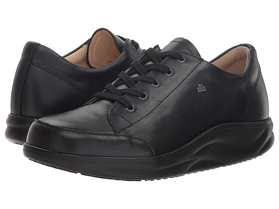 553ee8ddb2 Finn Comfort Altea (Black Trapper) Women's Lace up casual Shoes
