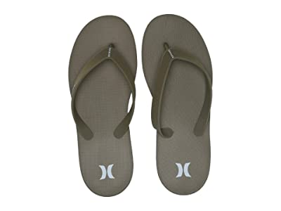 Hurley One And Only Sandal (Olive Canvas) Men