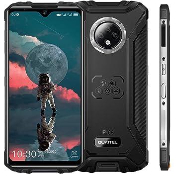 "OUKITEL WP8 Pro (2020) Rugged Smartphone, 6.49"" Display, 4GB 64GB Dual SIM IP68 Waterproof Unlocked Cell Phones, 16MP Triple Camera Android 10, 5000mAh Battery Face/Fingerprint ID, GPS NFC, Black"