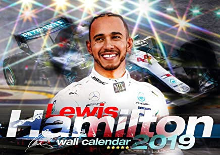 Lewis Hamilton 2019 Calendar