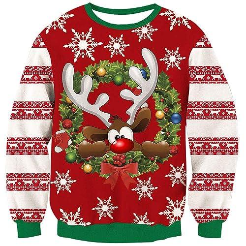 Cartoon Christmas Sweaters Amazon.com