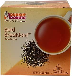 Dunkin' Donuts Pyramid Sachet Tea (Bold Breakfast, 1 Pack)