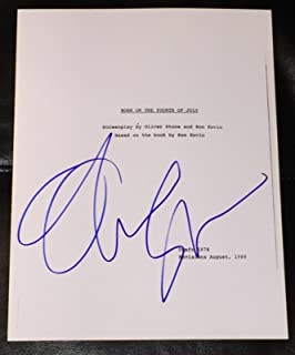 Cards & Papers Oliver Stone Signed Autographed 3x5 Card Jsa Certified Autographs-original