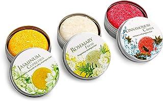 Ucradle Shampoo Bar, 100% Natural Vegan Hair Shampoo Bar Varias Plantas Essence Hand Shampoo Bar, Apto para todo tipo de cabello