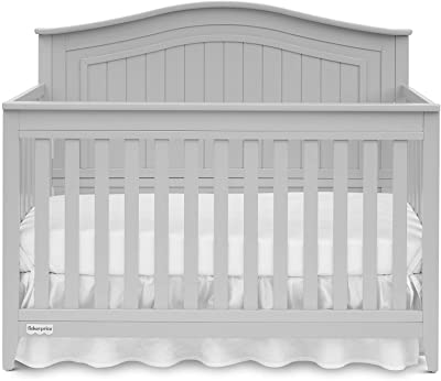 Fisher-Price Geary 4-in-1 Convertible Crib, Cloud Grey