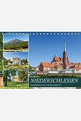 NIEDERSCHLESIEN Sommerliche Impressionen (Tischkalender 2021 DIN A5 quer) Kalender