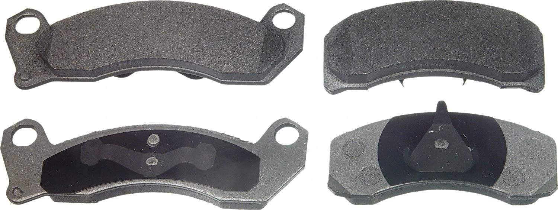 Wagner Easy-to-use Popularity ThermoQuiet MX431 Semi-Metallic Set Brake Disc Pad
