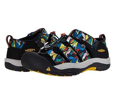 KEEN Kids Newport H2 (Little Kid/Big Kid) (Black/Multi) Kids Shoes