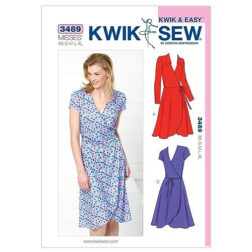 Wrap Dress Patterns Amazon Com