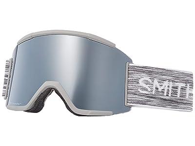 Smith Optics Squad XL Goggle (Cloud Grey/Chromapop Sun Platinum Mirror/Chromapop Storm Rose Fl) Snow Goggles