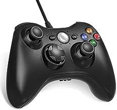 Diswoe Manette filaire pour Xbox 360, USB Wired Gamepad Game Joystick, Manette du Contrôleur de Jeu Filaire avec Double Vi...