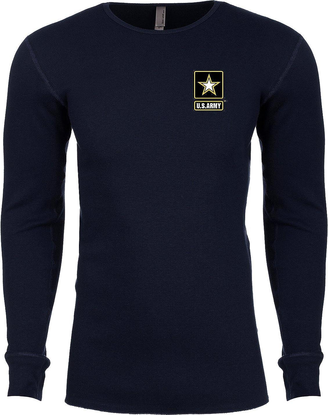 Buy Cool Shirts Mens US Army Pocket Print Thermal Shirt