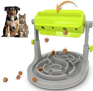 Alsanda Interaktives Hundespielzeug Katzenspielzeug Mit Anti Schling Hundenapf 2in1 für..