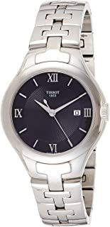 Tissot T-Trend T12 Women's Black Dial Stainless Steel Band Watch - T082.210.11.058.01